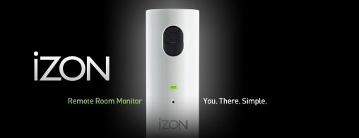 iZon remote camera voor iPhone