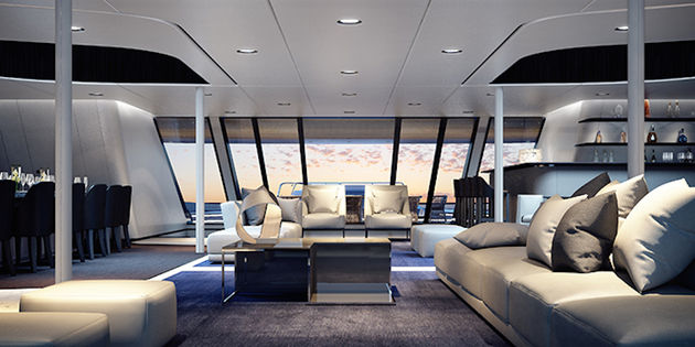Dit jacht is next level varen in luxe for Interieur yacht