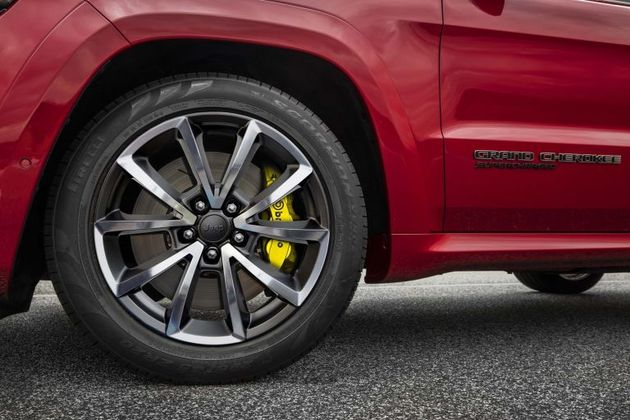 Jeep Grand Cherokee Trackhawk Brembos