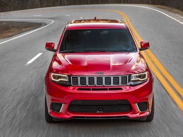 Jeep Grand Cherokee Trackhawk Front