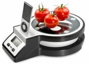 KeukenWeegschaal met iPod Dock