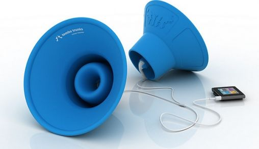 KickStarter - Rubberen Speakers voor je iPhone/iPod/iPad