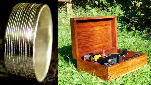Laat je ring het huwelijksaanzoek doen