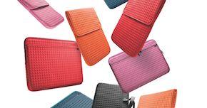 LaCie introduceert stijlvolle hoezen voor netbooks en MacBooks