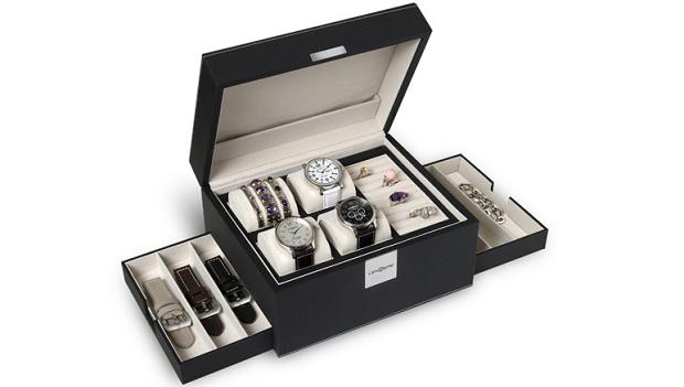 Lenzers juwelen en horloge box