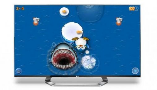 LG 3D game apps voor Smart TV