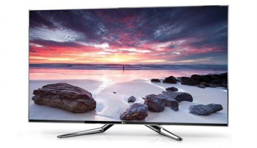 LG Cinema Screen met Smart TV in gebruik