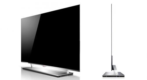 LG komt met 's werelds dunste OLED-TV (4 mm)