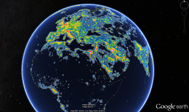 lichtvervuiling-wereldwijd