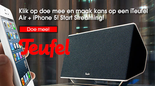 LIKE-ACTIE op Facebook: win iTeufel Air + iPhone 5