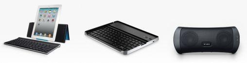 Logitech introduceert accessoires voor iPad en Android-tablets
