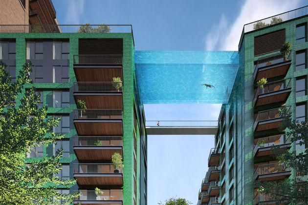 Londen Sky Pool
