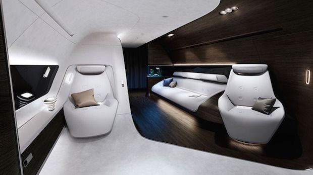 Luxe stoelen van Mercedes en Lufthansa