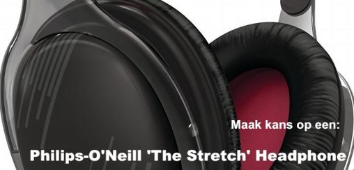 Maak Kans op een Philips-O'Neill 'The Stretch' Headphone (Review)