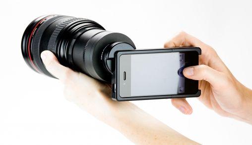 Maak van je iPhone 4 een DSLR