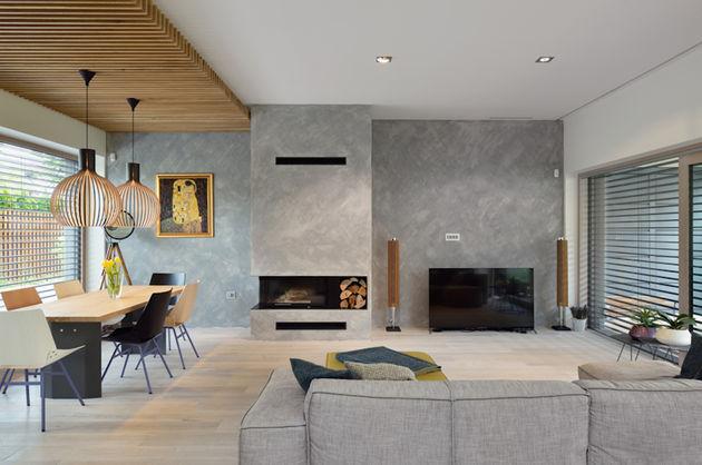Gaaf het zelfvoorzienende mezzanine house - Mezzanine woonkamer ...
