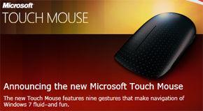 Microsoft introduceert Touch Mouse tijdens CES Las Vegas