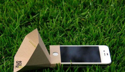Milieu vriendelijke iPhone versterker