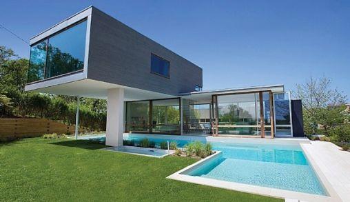 Modern huis om verliefd op te worden - De gevels van de huizen ...