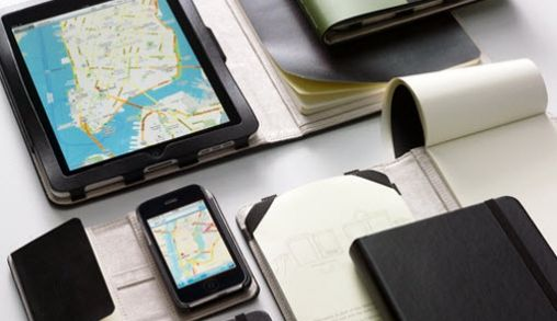 Moleskine voor je iPhone of iPad