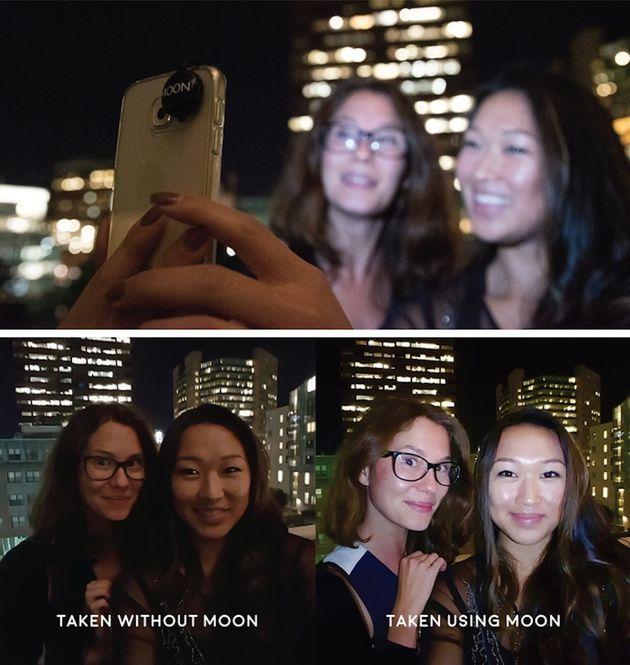 moon-selfie