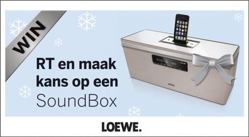 MORGEN - RT-actie met een prachtige Loewe SoundBox