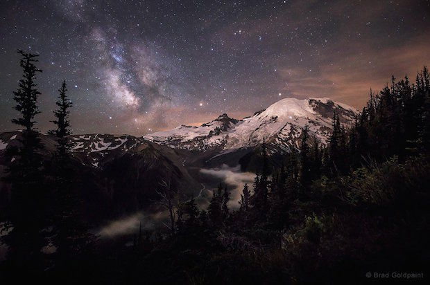 Mt. Rainier in Washington state