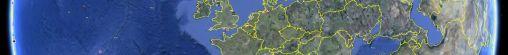Multiple CRVD display's met Google Earth