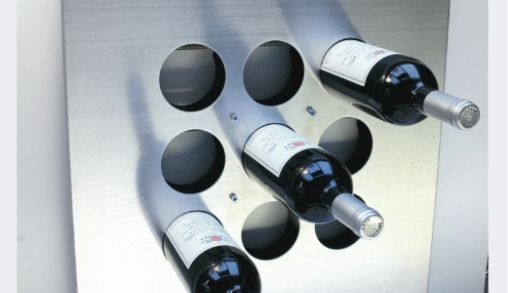 Neuf wijnrek heeft strak design