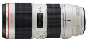 Nieuwe Canon EF 70-200mm Telezoomlens