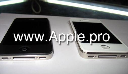 Nieuwe iPhone met Witte Voorkant