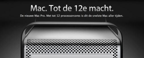 Nieuwe Mac Pro in Apple Store