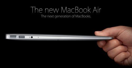 Nieuwe MacBook Air