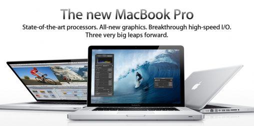 Nieuwe MacBook Pro