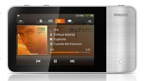 Nieuwe Philips GoGear Muse mp4-speler
