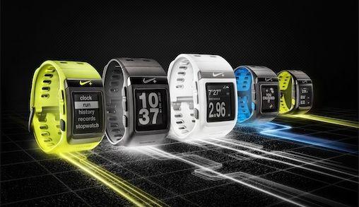 Nike White- en Silver Edition Nike+ SportWatch