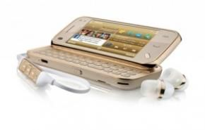 Nokia N97 Mini Gold Edition voor de Fashion Freek