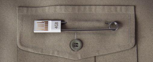 Nooit meer je USB stick kwijt