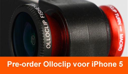Olloclip voor iPhone 5 Pre-order