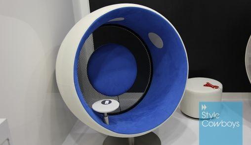 Ooit in een hoofdtelefoon gezeten? Met de Sonic Chair kan het!