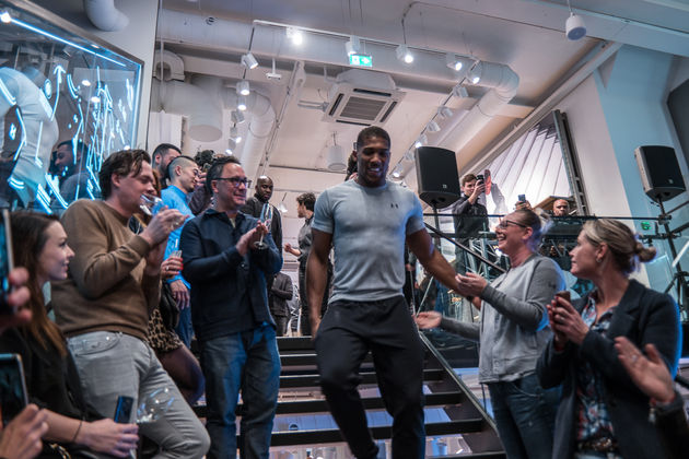 Opening Under Armour Brand House Amsterdam-9