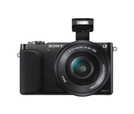 orig_Sony NEX-3N_SELP1650_flash_up_BK