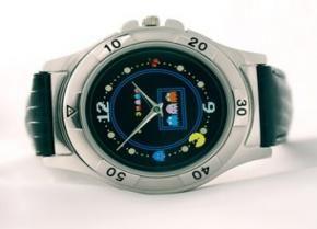 Pac-Man Horloge