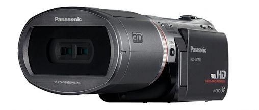Panasonic 3D camcorder voor consument (HDC-SDT750)