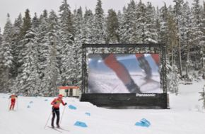 Panasonic Full HD 3D Theater op Olympische Winterspelen 2010