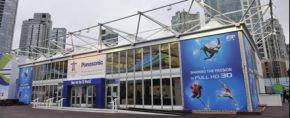 Panasonic opent Full HD 3D Theater op de Olympische Winterspelen 2010