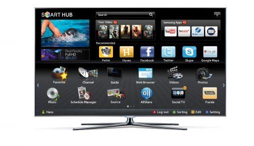 Pathé Thuis app op de Samsung Smart TV