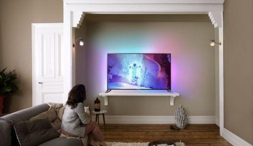 Philips 9800: het nieuwe Ultra-HD-vlaggenschip met Android, Ambilight en ultieme beeldkwaliteit