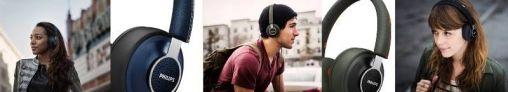 Philips CitiScape Denim-hoofdtelefoon