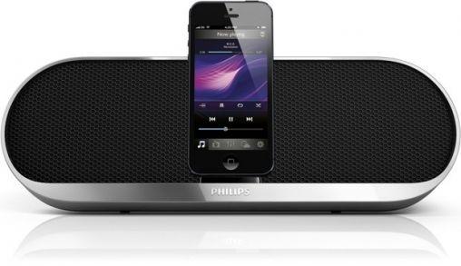 Philips docking speakers met Lightning-connector voor iPhone 5